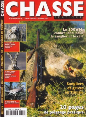 couverture revue chasse pratique
